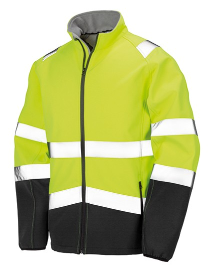 RT450 Result Printable Safety Softshell Jacket