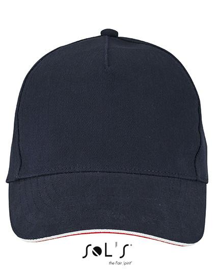 b2c917ea0306d L02116 SOL´S Unisex Contrast Three-Colour Cap Longchamp online günstig  kaufen