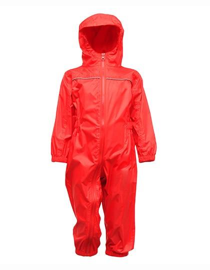 RG466 Regatta Kids Paddle Rain Suit