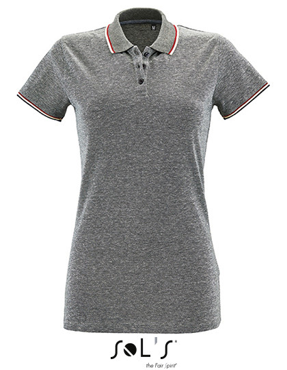 promo code 388b1 02f67 L02082 SOL´S Womens Heather Polo Shirt Paname