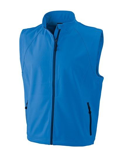 JN1022 James+Nicholson Men`s Softshell Vest
