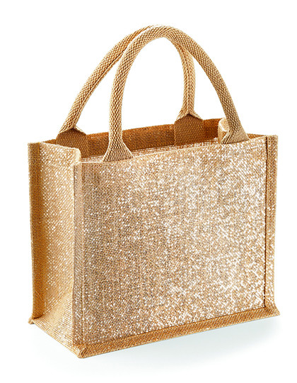 WM431 Westford Mill Shimmer Jute Mini Gift Bag