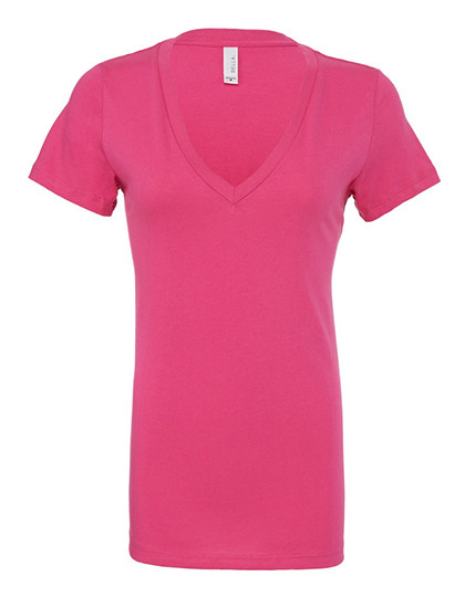 BL6035 Bella Women´s Jersey Deep V-Neck T-Shirt