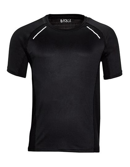 L01414 SOL´S Men`s Short Sleeve Running T-Shirt Sydney