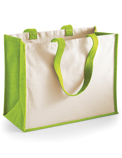 WM422 Westford Mill Printers Jute Classic Shopper