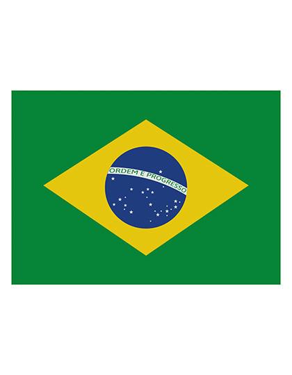 FLAGBR Fahne Brasilien