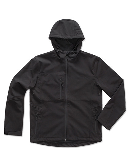 S5240 Stedman® Active Softest Shell Hooded Jacket