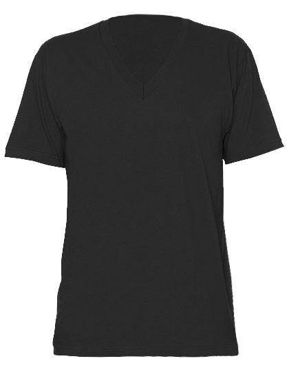 f57d1b70cfb644 AM2456 American Apparel Unisex Fine Jersey V-Neck T-Shirt online günstig  kaufen