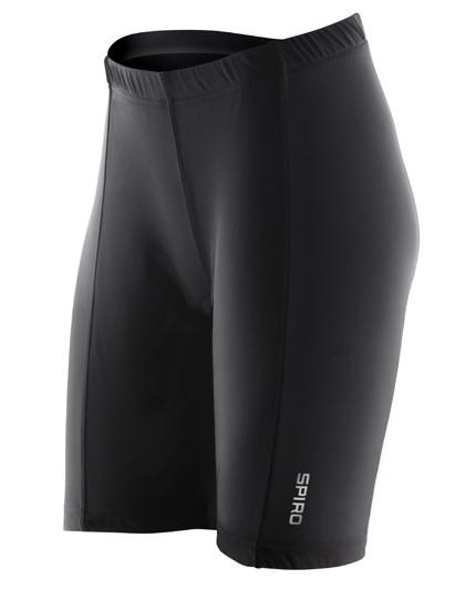 RT187F SPIRO Ladies Padded Bikewear Shorts