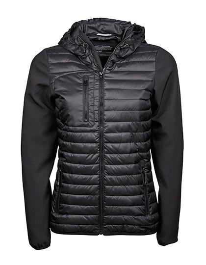 TJ9629 Tee Jays Ladies Hooded Crossover Jacket