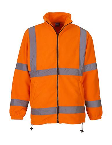 YK08 YOKO His-Vis Fleece Jacket