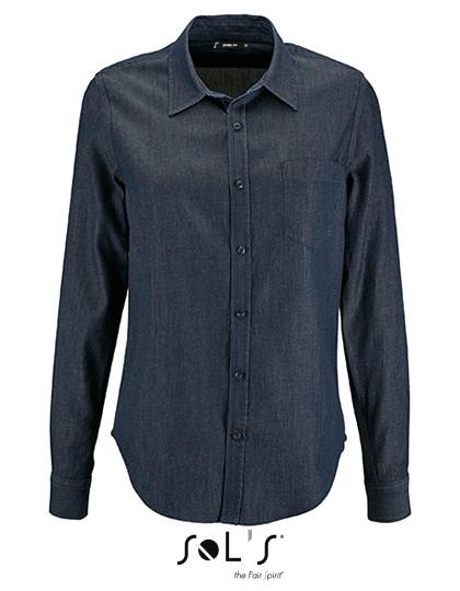 L02101 SOL´S Womens Denim Shirt Barry