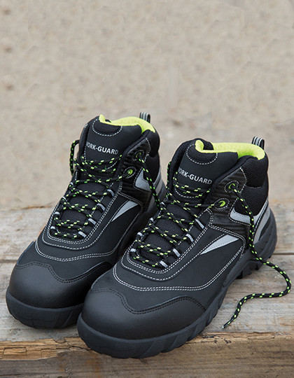 RT339 Result WORK-GUARD Blackwatch Safety Boot