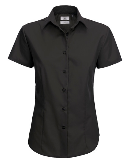BCSWP64 B&C Poplin Shirt Smart Short Sleeve / Women