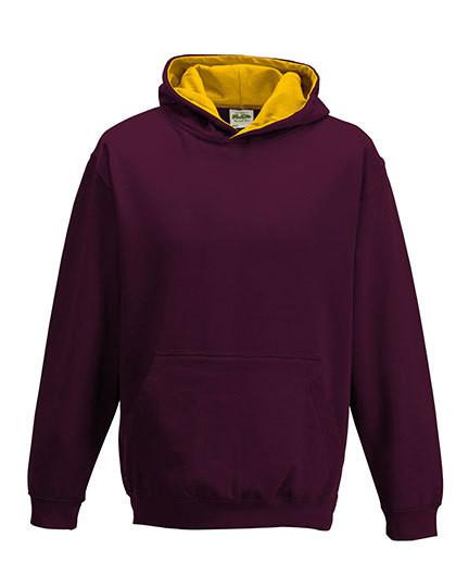 JH003K Just Hoods Kid´s Varsity Hoodie