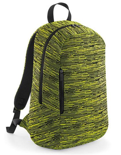 BG198 BagBase Duo Knit Backpack