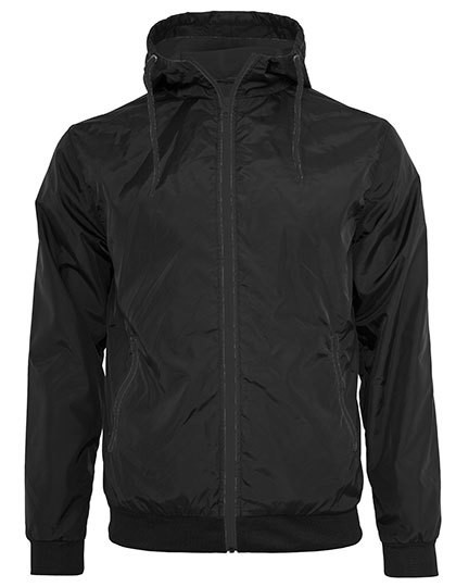 BY016 Build Your Brand Windrunner Jacket